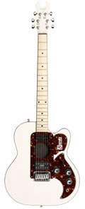 Burns Steer Custom Cutaway White