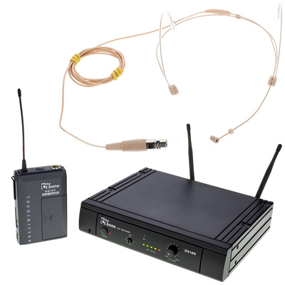 the t.bone TWS 16 HeadmiKeD 600 MHz Set