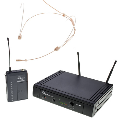 the t.bone TWS 16 HeadmiKeO 600 MHz Set