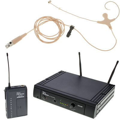 the t.bone TWS 16 EarmiKeD 600 MHz Set