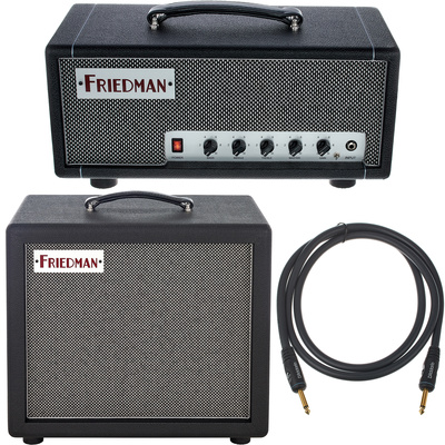 Friedman Amplification Mini Dirty Shirley Head Bundle