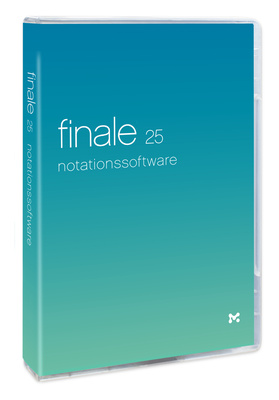 MakeMusic Finale 25 (D) Update 2012