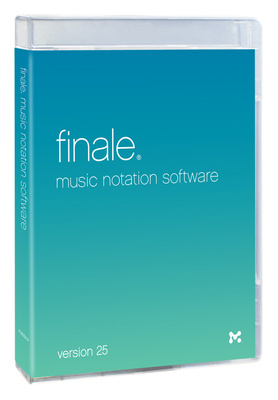MakeMusic Finale 25 (E) Update