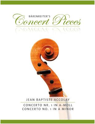Bärenreiter Accolay Concerto Nr.1