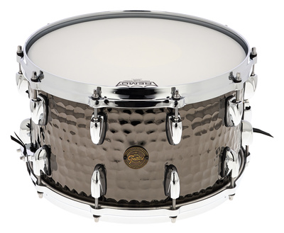 "Gretsch 14""x8"" Black Hammered Snare"