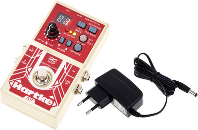 Hartke HL77 Looper Pedal Bundle