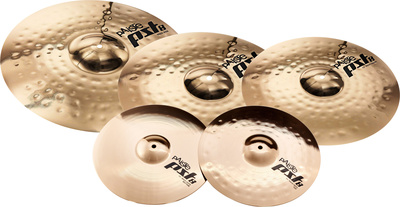 "Paiste PST8 Rock Set + 16"" Crash"