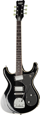 Eastwood Guitars Sidejack HB DLX Black