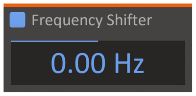 Kilohearts Frequency Shifter