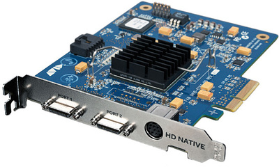 Avid Pro Tools HD native PCIe