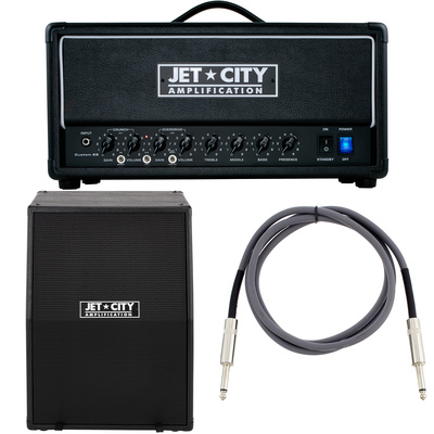 Jet City Amplification Custom 22 Head BP Bundle