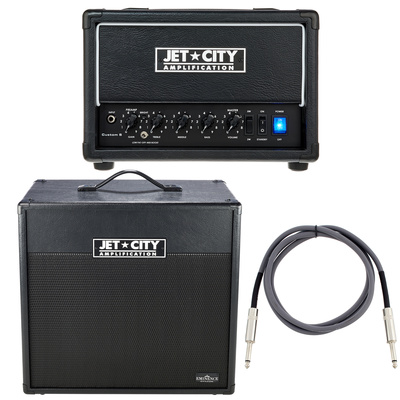 Jet City Amplification Custom 5 BK Bundle