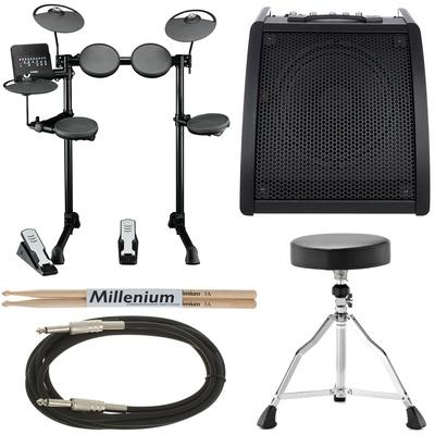 Yamaha DTX400K Complete E-Drum Bundle