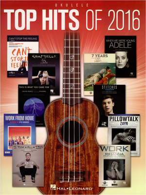 Hal Leonard Top Hits of 2016: Ukulele