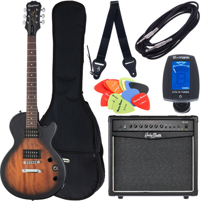 Epiphone Les Paul Special VE VSB Bundle