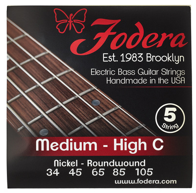 Fodera 5-String Set Medium - High C