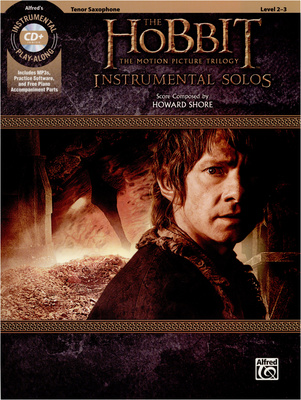 Alfred Music Publishing Hobbit Trilogy T-Sax