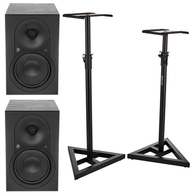 Mackie XR624 Stand Bundle