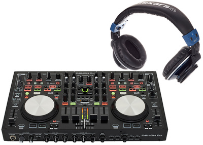 Denon MC6000 MK II Bundle