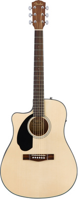 Fender CD-60SCE Lh Nat B-Stock
