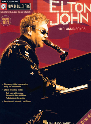 Hal Leonard Jazz Play Along Elton John