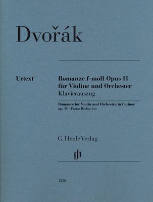 Henle Verlag Dvorák Romance op.11 Violin