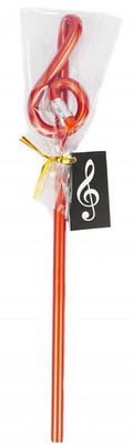 A-Gift-Republic Pencil G Clef Red