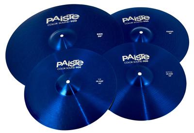 Paiste 900 Color Univ. Cymbal Set BL