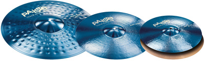 Paiste 900 Color Rock Cymbal Set BLUE