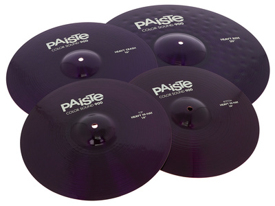 Paiste 900 Color Rock Cymbal Set PRP