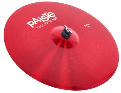 """Paiste 18"""" 900 Color Sound Crash RED"""