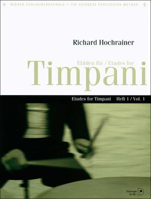 Doblinger Musikverlag Etudes for Timpani Vol.1
