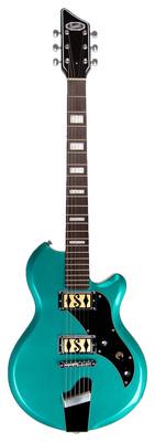 Supro Westbury DP Turquoise Metallic