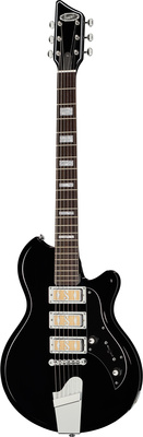 Supro Hampton Jet Black B-Stock