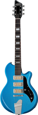 Supro Hampton Blue Metallic