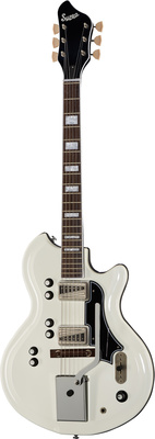 Supro Martinique Deluxe Ermine White