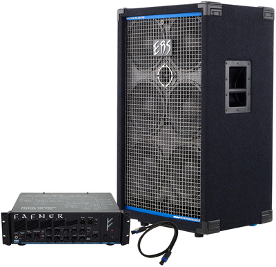 EBS Fafner II Bass Amp Head Bundle