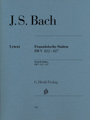 Henle Verlag Bach French Suites Piano