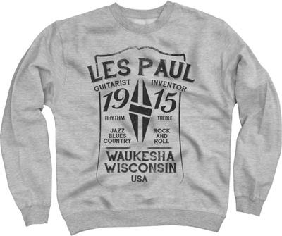 Les Paul Merchandise Sweat Shirt Les Paul 1915 M
