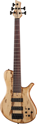 Marleaux MBass 33-5 Spalted Maple