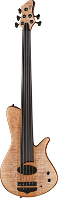 Franz Bassguitars Sirius 5 Maple Fretless RG
