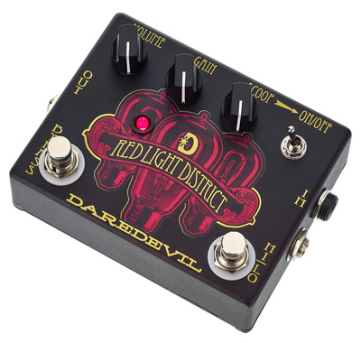 Daredevil Pedals Red Light District Dis B-Stock