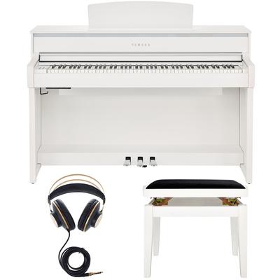 yamaha clp 675 wh set musikhaus thomann. Black Bedroom Furniture Sets. Home Design Ideas