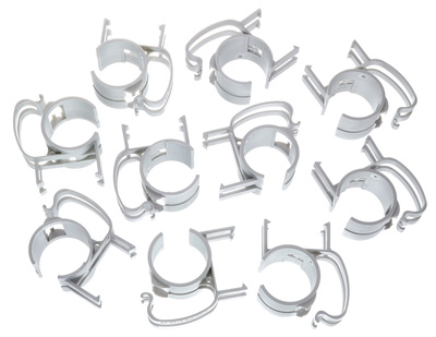Stairville Snap silver 10 pcs