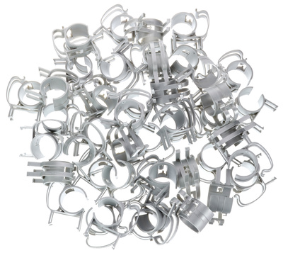 Stairville Snap silver 45 pcs