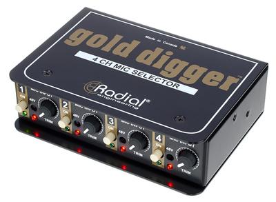 Radial Engineering Gold Digger B-Stock