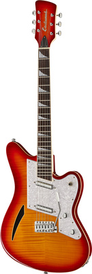 Eastwood Guitars Surfcaster Cherryburst
