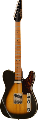 Macmull Guitars Heartbreaker Vintage Burst MN