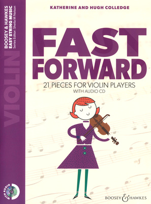 Boosey & Hawkes Fast Forward Violin +CD
