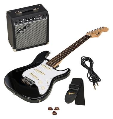 Fender SQ Strat Pack SSS BK B-Stock